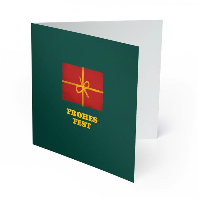 Weihnachtskarten - Geschenk