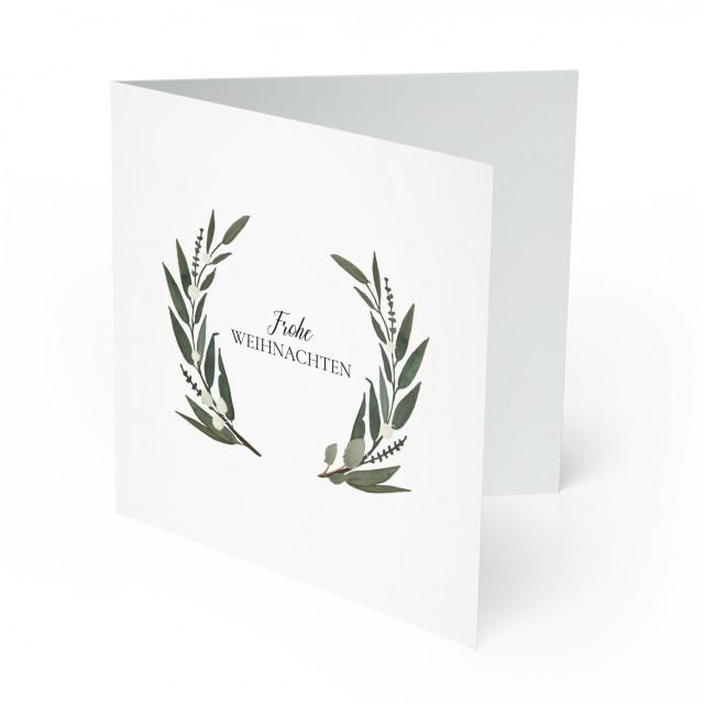 Firmen Weihnachtskarten - Pflanzen