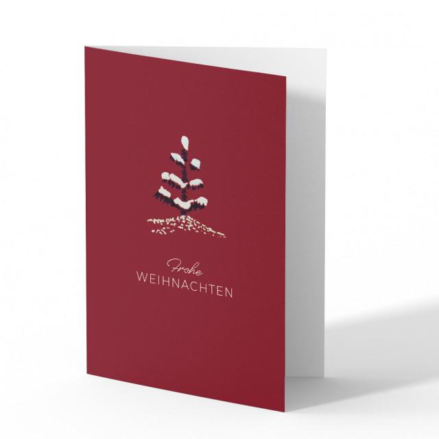 Weihnachtskarten - Tannenbaum