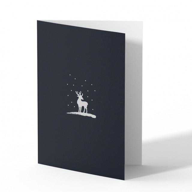Weihnachtskarten - Schneegestöber