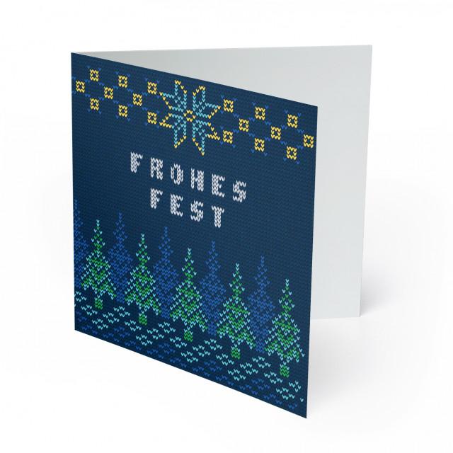 Weihnachtskarten - Strickpullover