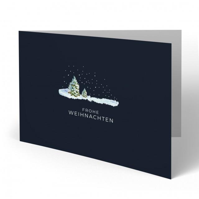 Weihnachtskarten - Polarnacht