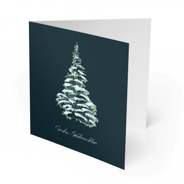 Weihnachtskarten - Weihnachtsbaum