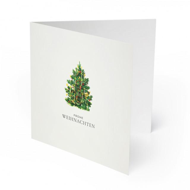 Weihnachtskarten - Christbaum